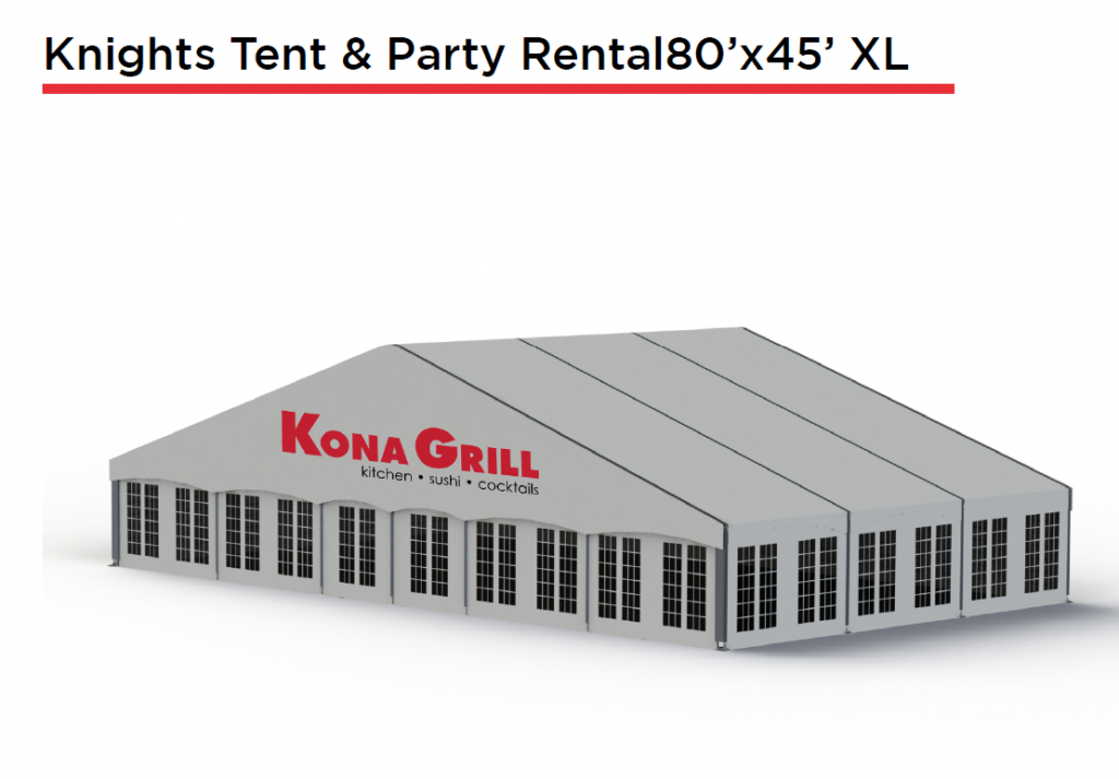 Knights Tent & Party Rental XL