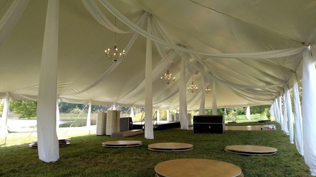 Knights Wedding Tent
