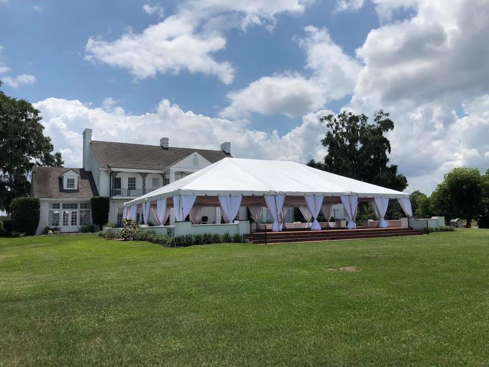 Backyard Tent Rental