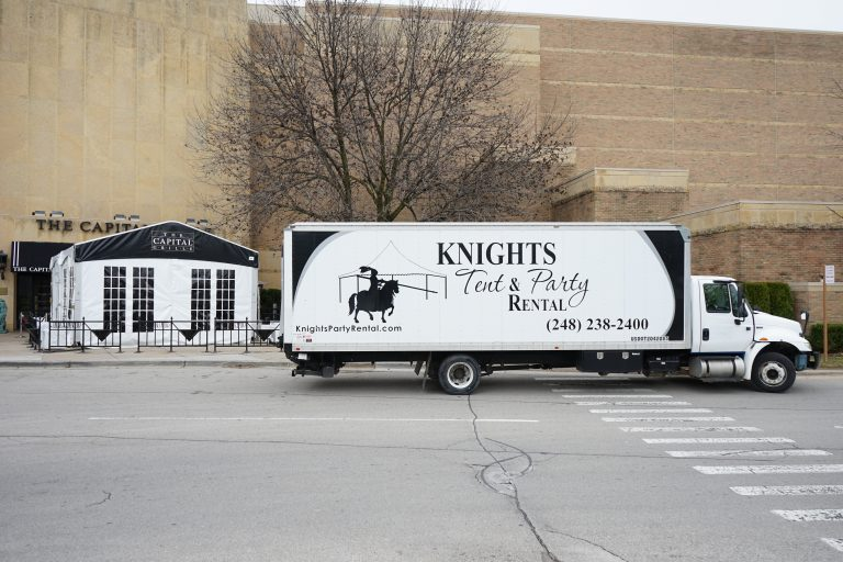 Knight's Tent and Party Rental Truck