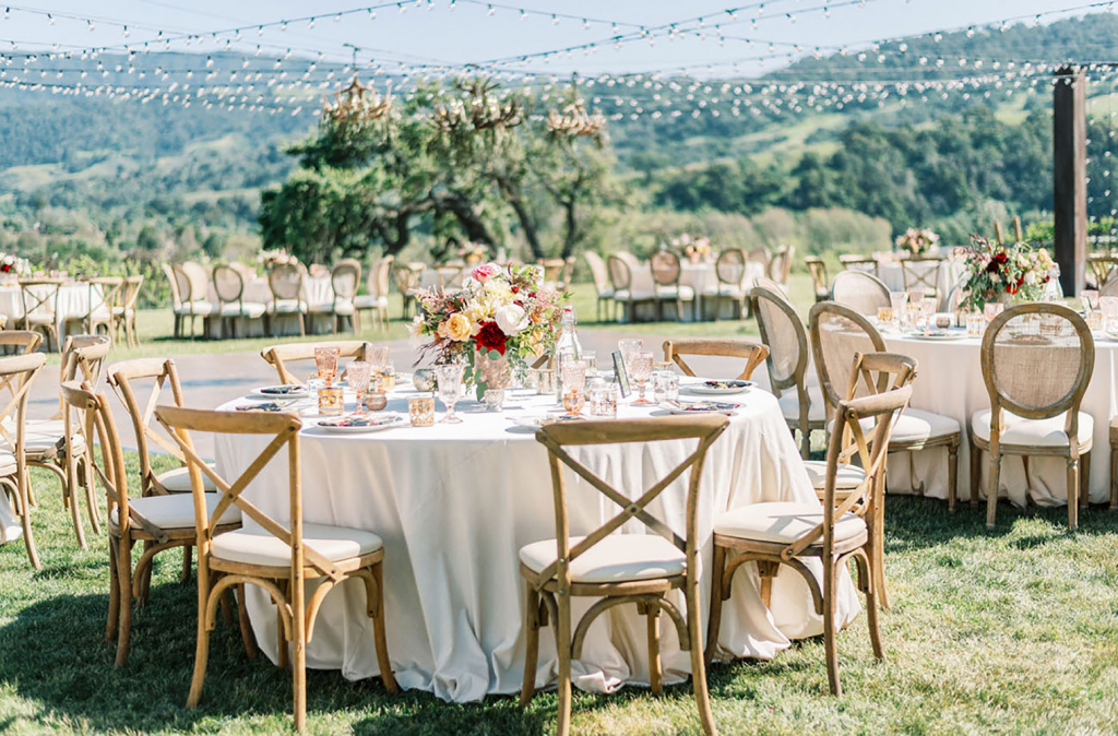 Outdoor Table and Chair Rental
