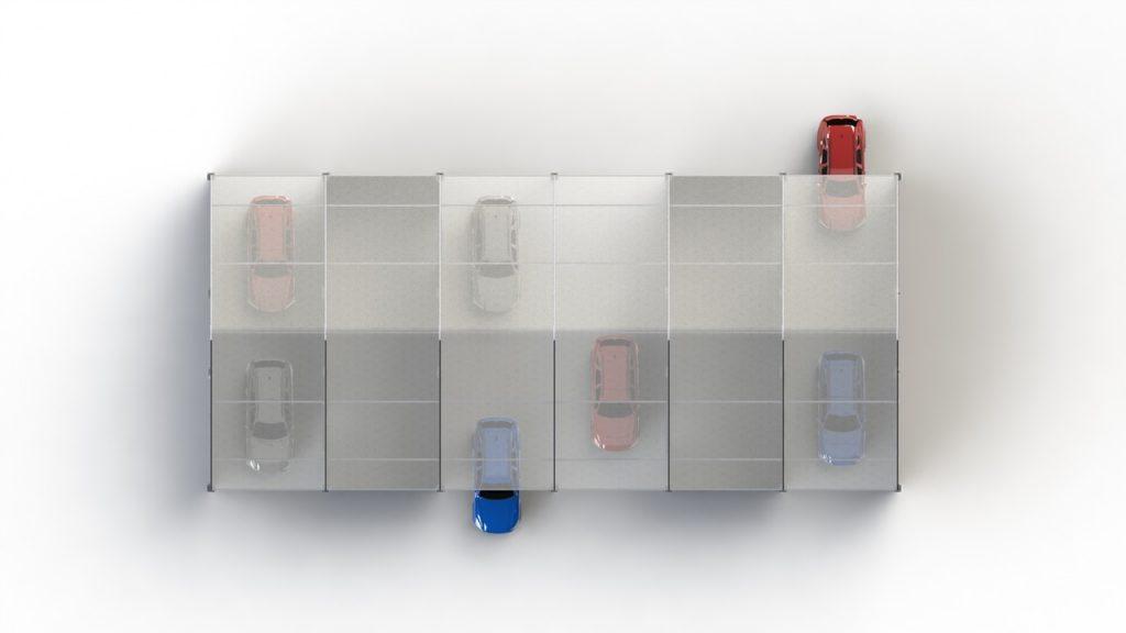 40x90 Mega Drive-Thru Diagram