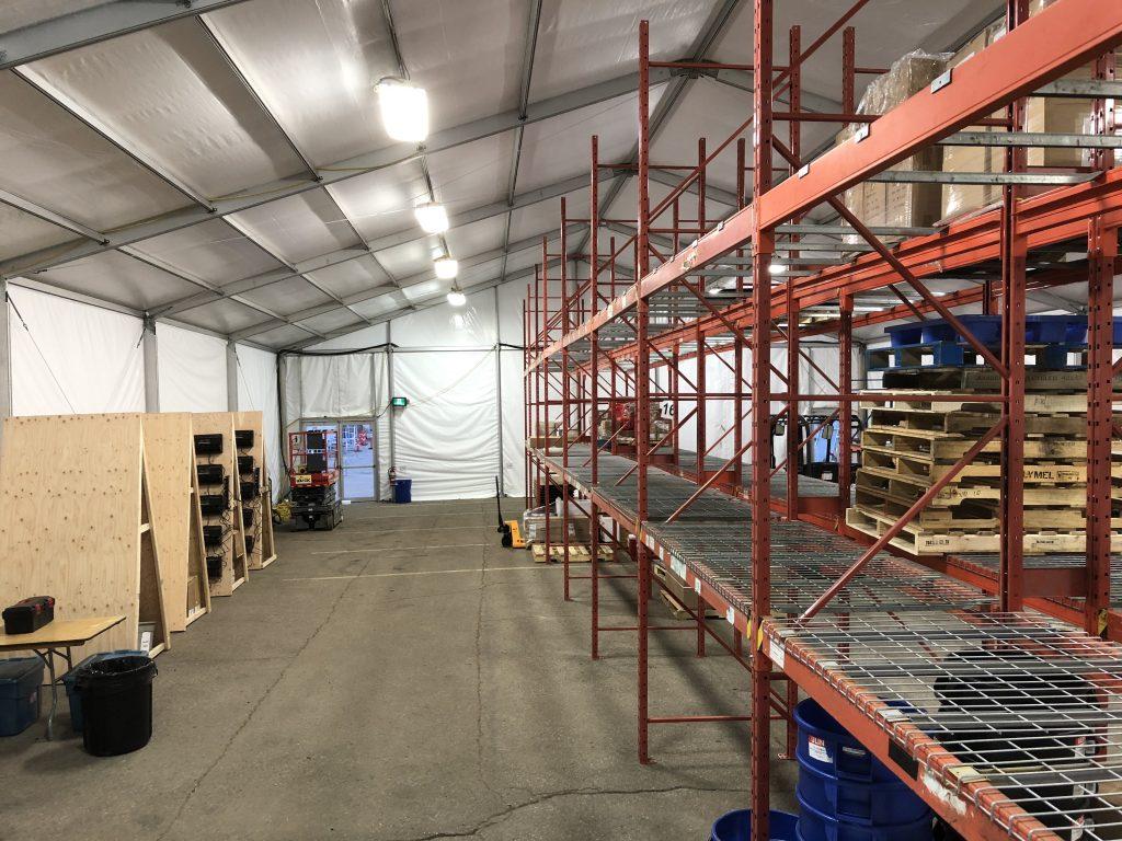 Structure Tent Storage