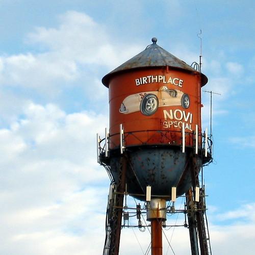 Novi Birthplace Water Tower
