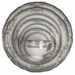 vanessa platinum dinner plate