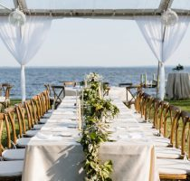 Clear Top Farm Chairs Table Lakefront